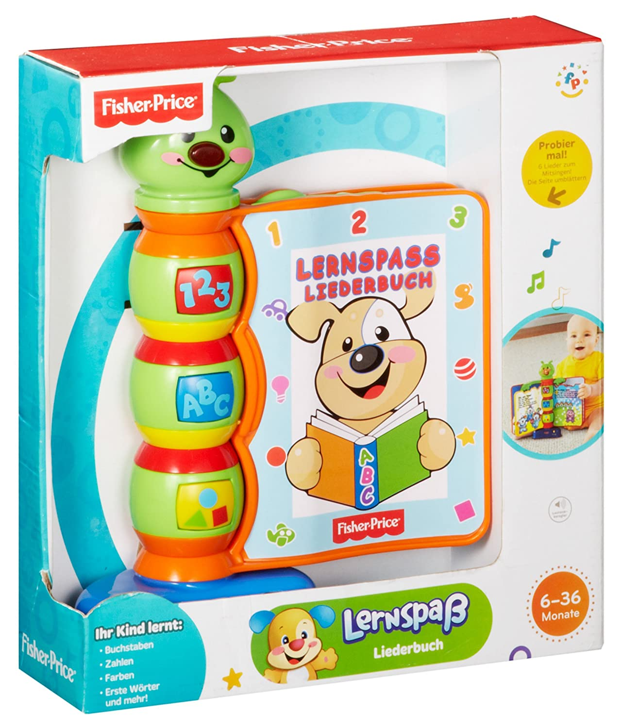 FISHER PRICE Laugh & Learn Song Book: Amazon.co.uk: Toys & Games