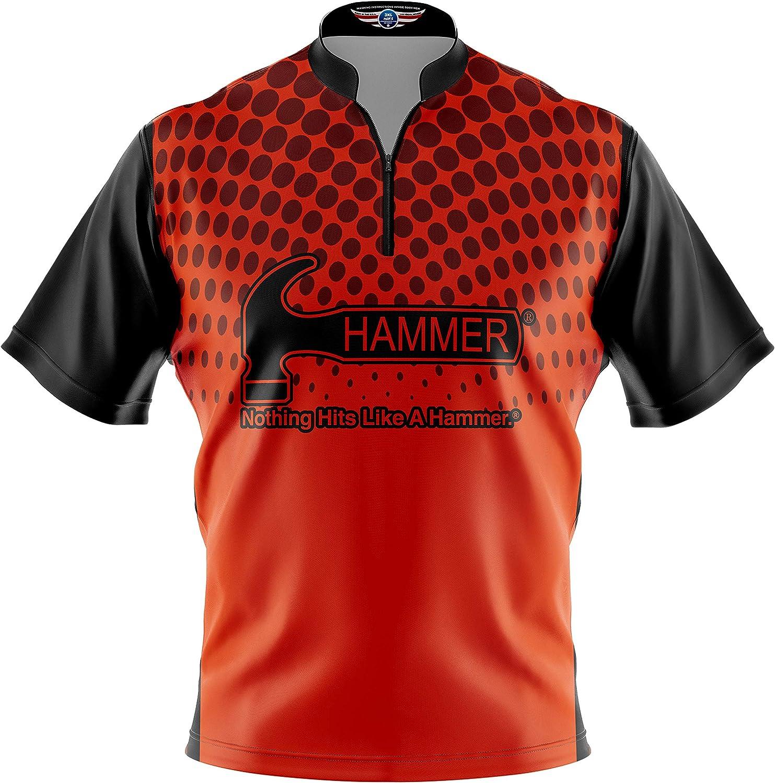 Storm Men/'s Hit Performance Polo Bowling Shirt Dri-Fit Black