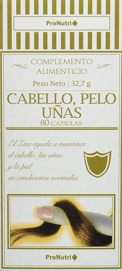 ProNutri Suplemento Alimenticio Cabello, Piel, Uñas - 2 Paquetes de 60 Cápsulas
