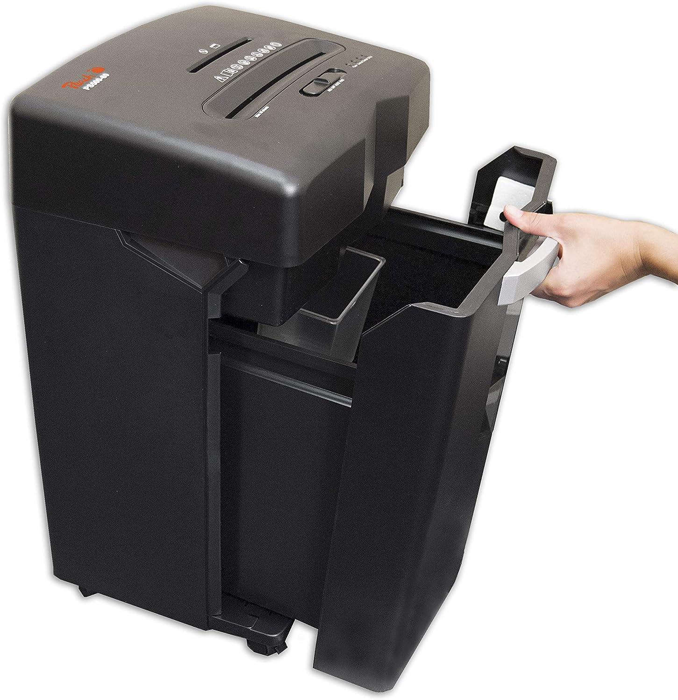 12er-Pack 16 Blatt Papier und Kreditkarten /& Basics 18 Liter // 200 DIN A4 5 x 32 mm Partikel Peach PS500-70 Partikelschnitt Aktenvernichter Schmiermittelbl/ätter f/ür Aktenvernichter P-4