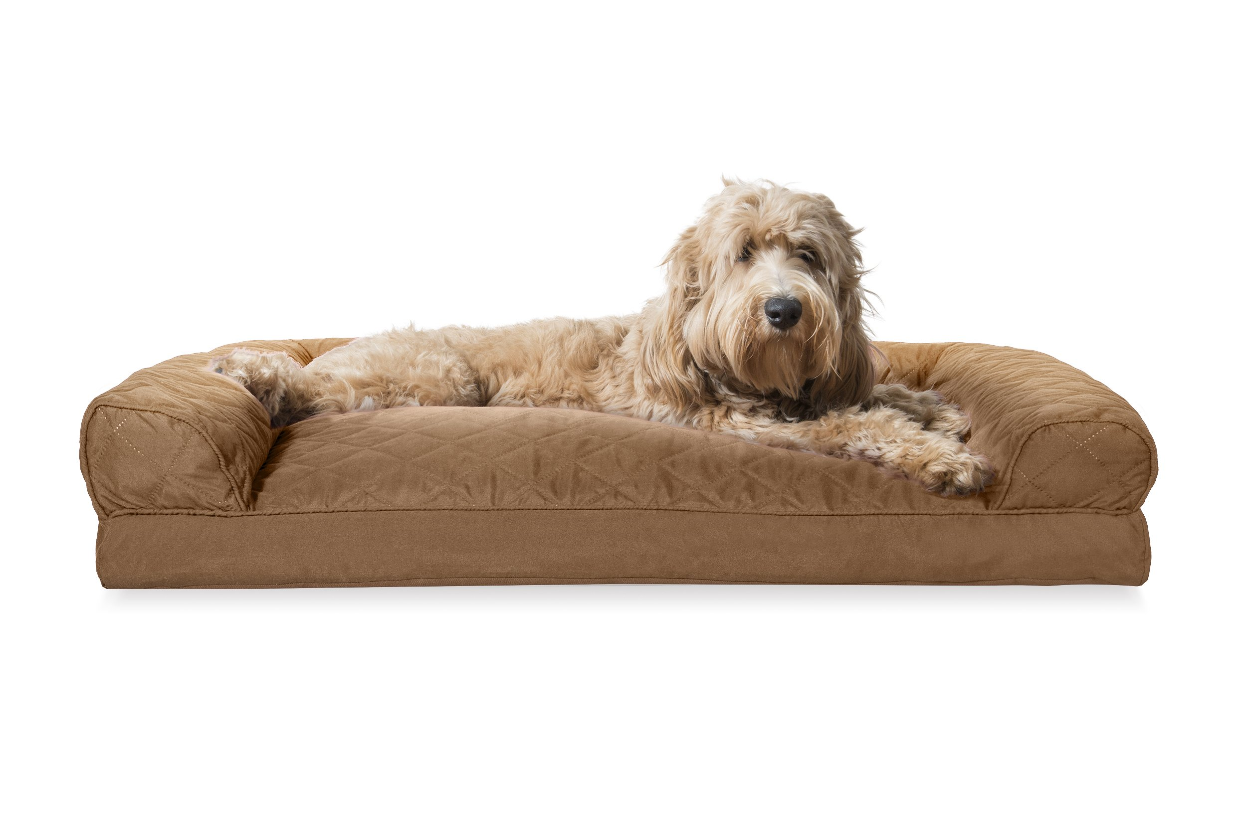Attirant FurHaven Pet Dog Bed | Pillow Sofa Style Couch Pet Bed For Dogs U0026 Cats    Available In Multiple Colors U0026 Styles