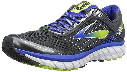 Brooks Glycerin 15, Scarpe da Running Uomo, Multicolore (Black/Electric Blue/Green), 40.5 EU