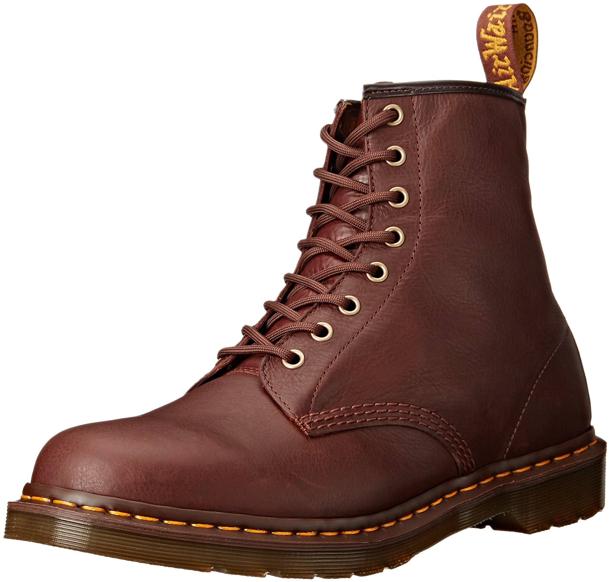 Dr. Martens Men's 1460 Carpathian Combat Boot, Tan, 9 UK/10 M US by Dr. Martens
