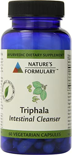 Nature s Formulary Triphala, 60 Count
