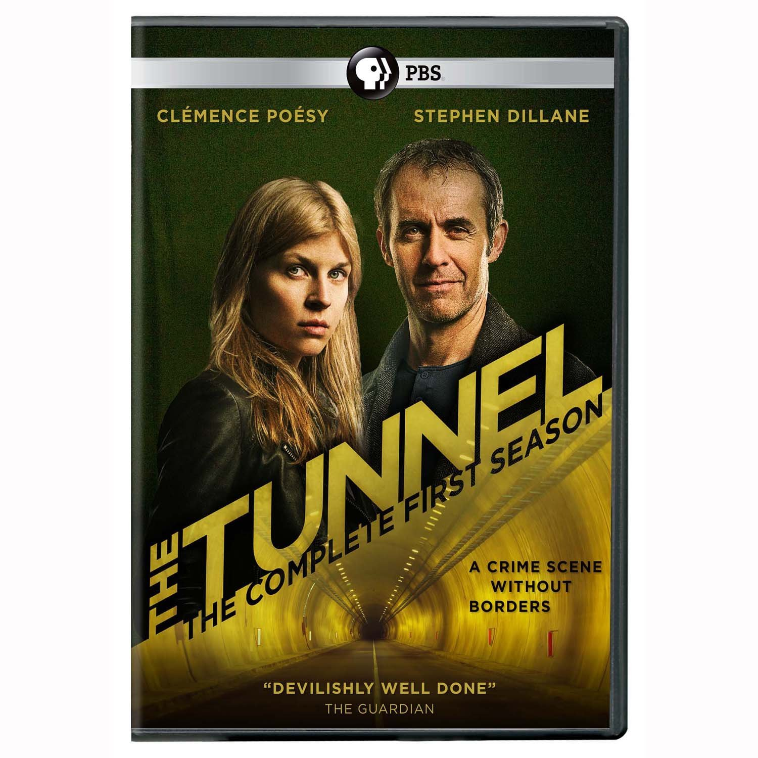 DVD : The Tunnel: Season One (UK Edition) (3 Disc)