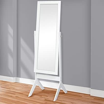 best choice products standing cheval floor mirror bedroom home furniture - Mirrored Bedroom Furniture