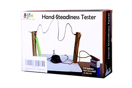 Buy hand steadiness tester making kit do it yourself diy hand steadiness tester making kit do it yourself diy working model educational solutioingenieria Gallery