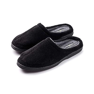 Roxoni Men's Slipper Cozy Clog Durable Comfort Slip On House Shoes | Slippers