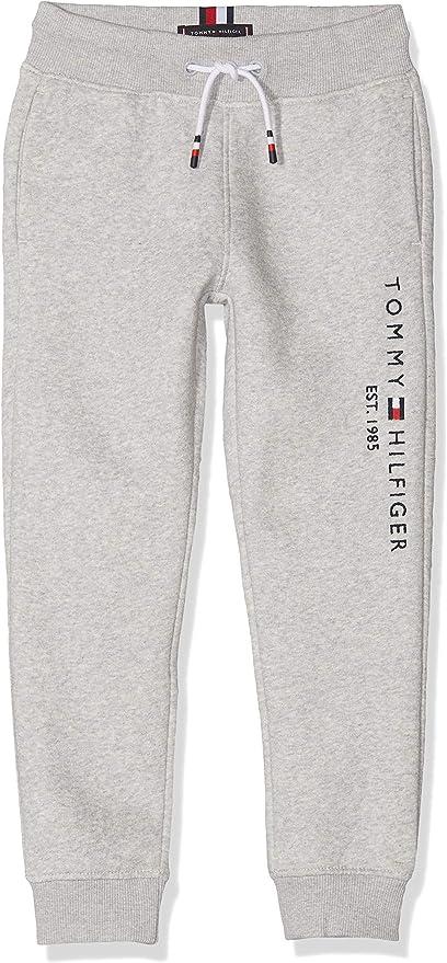 Tommy Hilfiger Joggers Essential Con Logo Pantalones Para Ninos Amazon Es Ropa Y Accesorios