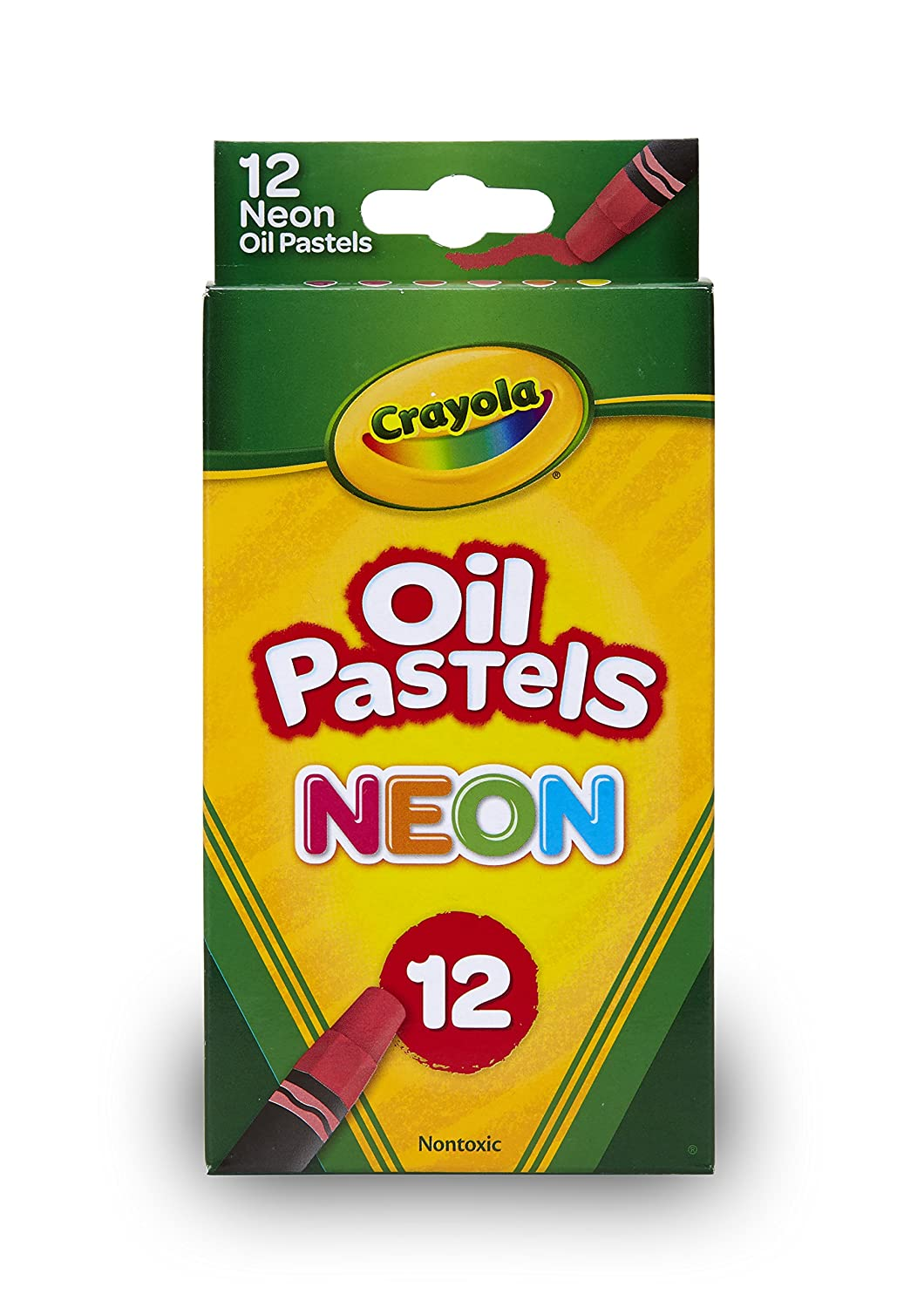 Crayola Oil Pastel Set with Decorative Case, Water-Soluble, Great for Watercolor Effects, 24 Colors Binney & Smith 52-4624
