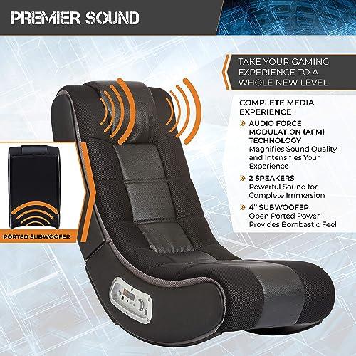 X Rocker Dash 2.1 Wireless Floor Rocking Gaming Chair