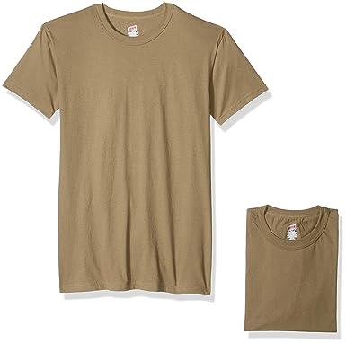 ba2afcf49 Soffe Men's 100% Soft Spun Cotton Short Sleeve T-Shirt 3 Pack at Amazon  Men's Clothing store: