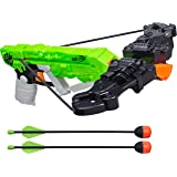 Nerf Zombie Strike Wrathbolt - Defend Against the Zombified Attackers with Your Sniper Crossbow - Load