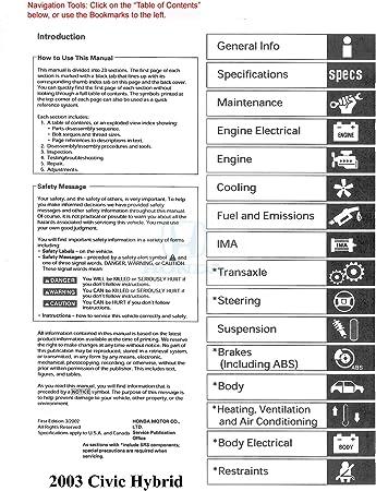 1994 Honda Civic Service Shop Repair Manual Book Engine Drivetrain Electrical