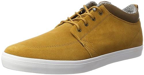 Globe GS Chukka, Zapatilla Baja para Hombre, Marrón (Dark Caramel/White), 44 EU: Amazon.es: Zapatos y complementos