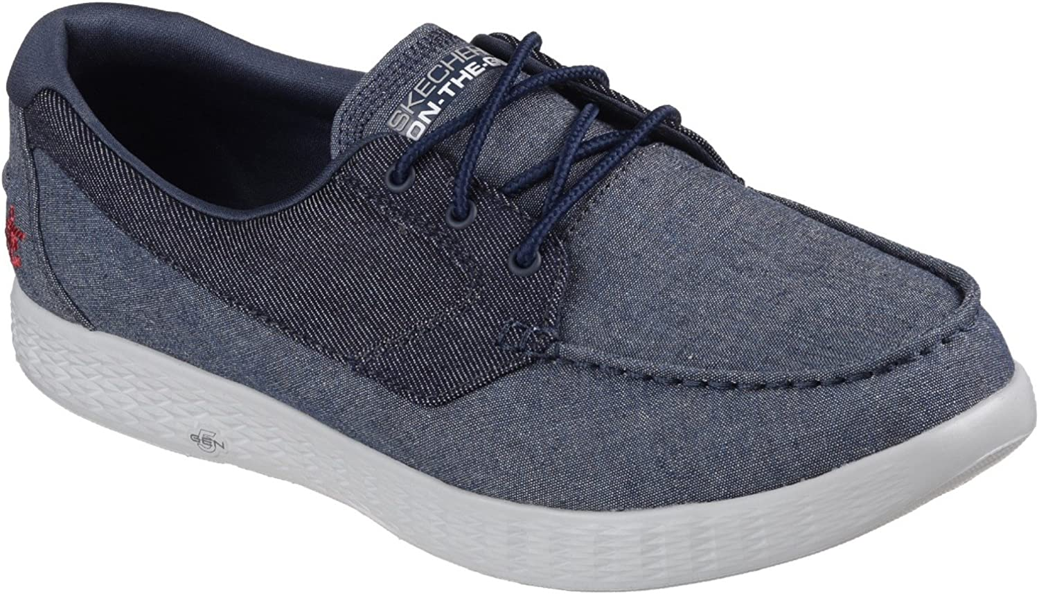 TALLA 41. Skechers Mens On The Go Glide Coastline Cushioned Casual Boat Shoes
