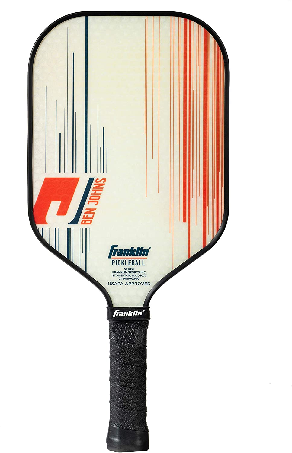 Franklin Sports Pro Pickleball Paddles - Pro Tournament Pickleball Paddles with Extra Grip MaxGrit Technology - Signature Pickleball Paddles
