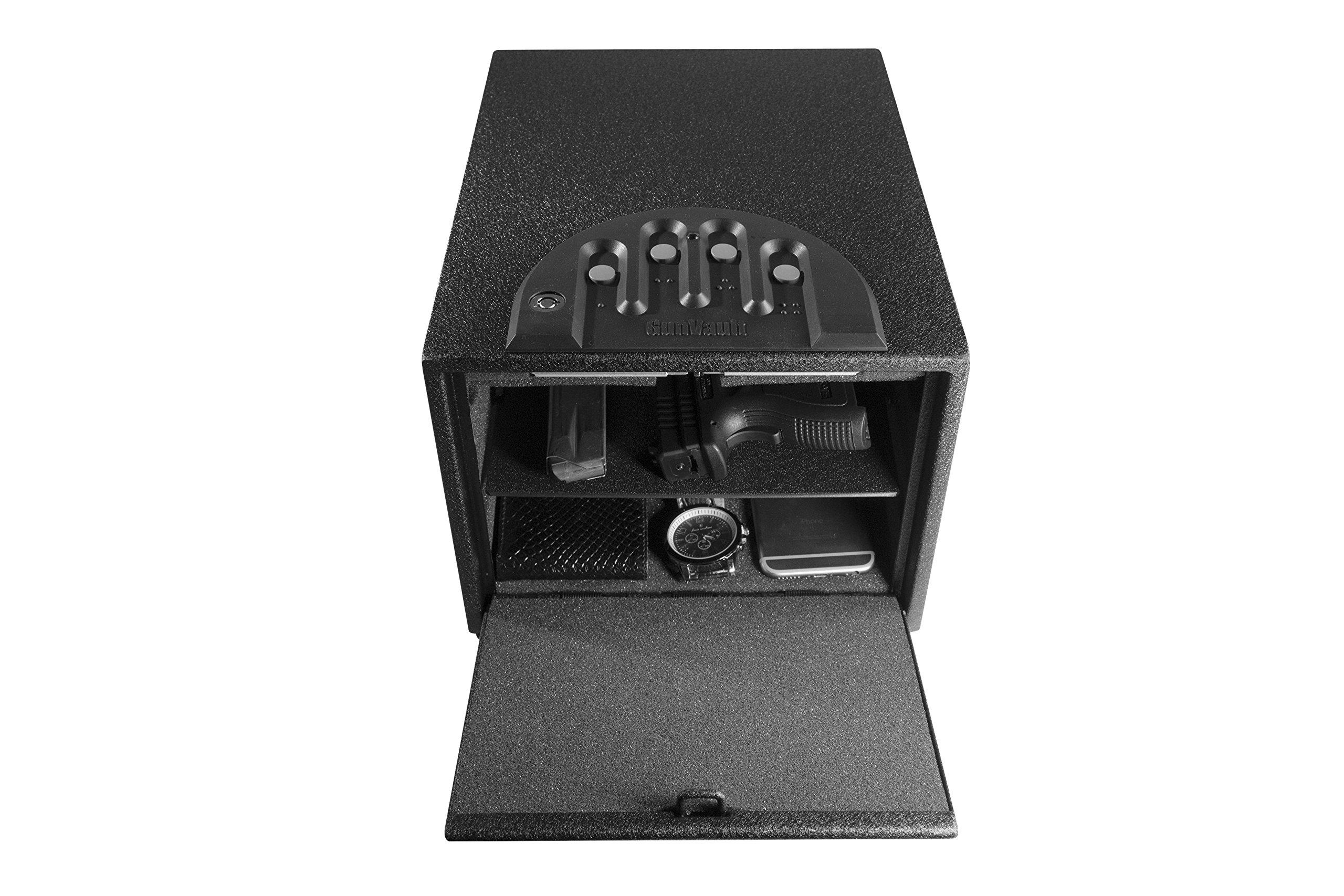 GunVault Multivault Standard Digital Pistol Safe GV2000C-STD by GunVault