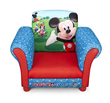 Disney Mickey Mouse Childrenu0027s Upholstered Chair