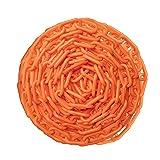 ChainBoss Orange Plastic Chain with Sun Shield 10
