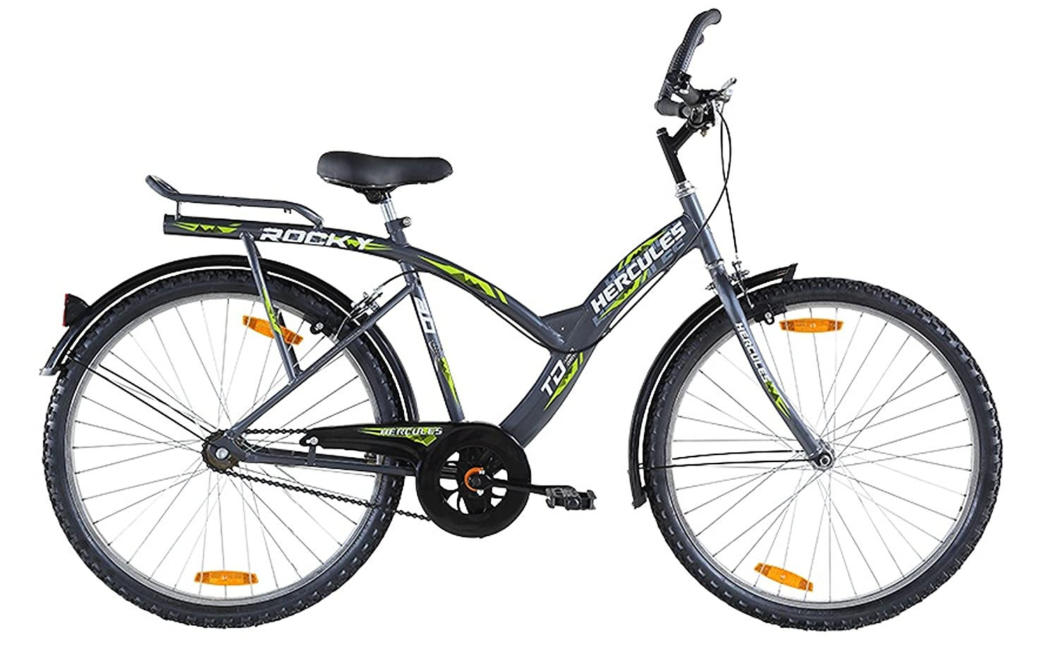 1708a6b711f Buy Hercules MTB Turbodrive Rocky 3.0 26T Bicycle (New Version) Online at  Low Prices in India - Amazon.in