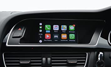 Audi Navigation Upgrade Audi CarPlay With Reversing Camera Interface - Audi car play