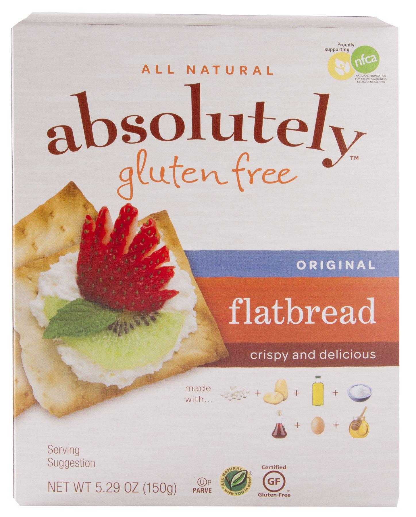 Absolutely Gluten Free Original Flatbread, 5.29-Ounce (12 Pack)