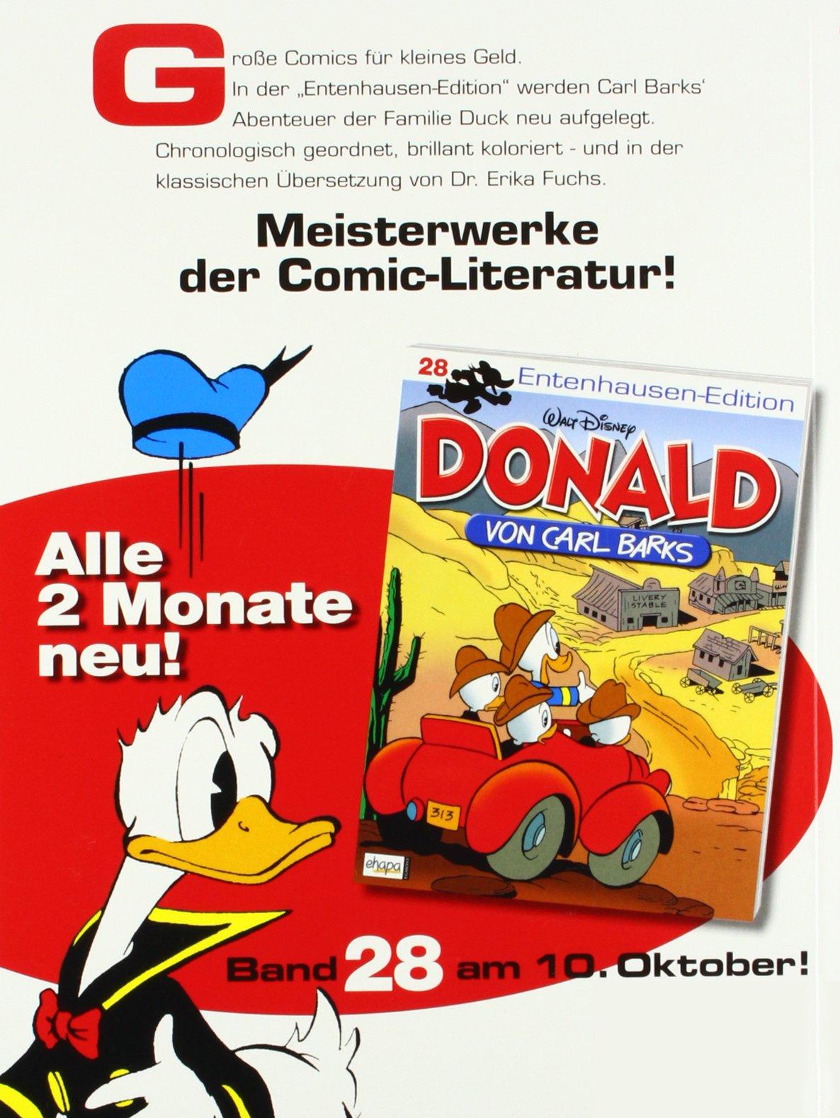 Bd.34 Barks Donald Walt Carl Barks Entenhau Entenhausen-Edition Carl Disney