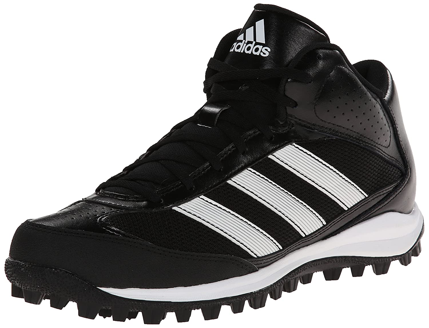 check out 0056f 70de6 Amazon.com  adidas Performance Mens Turf Hog LX Mid Football Cleat   Football