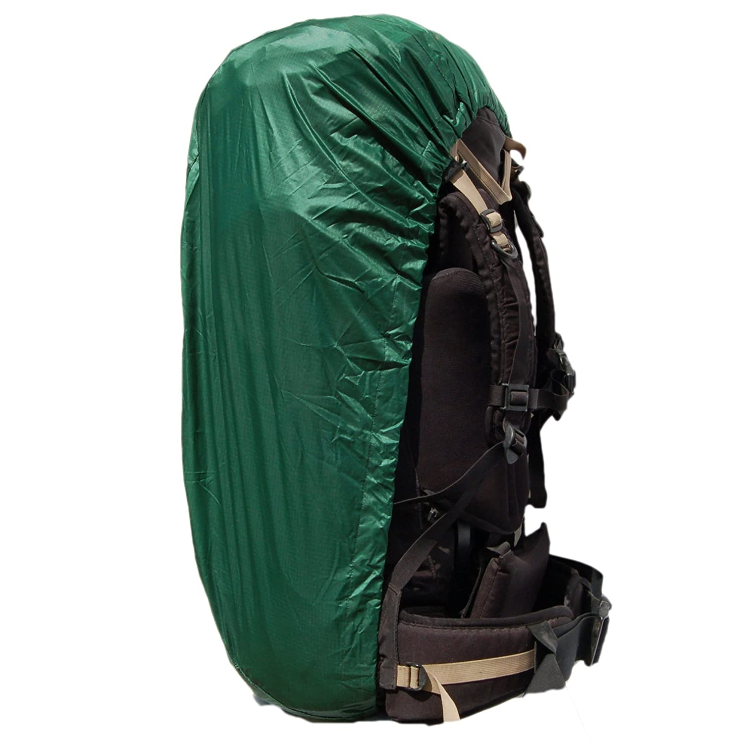 Aqua Quest Sil Backpack Cover - 100% Waterproof - Small, Medium, or Large - Green