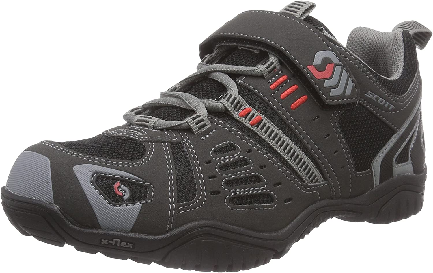 Scott, Zapatillas de Trail Running Unisex Adulto, Negro-Negro, 48 ...