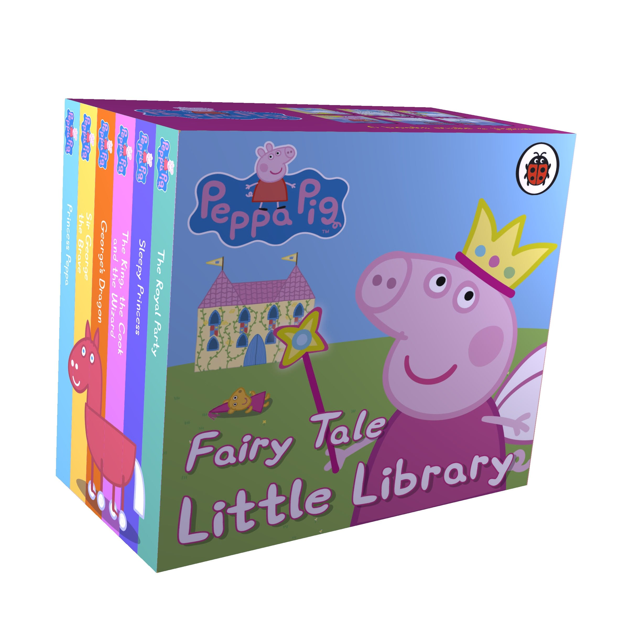 Pe peppa pig online coloring pages - Peppa Pig Fairy Tale Little Library