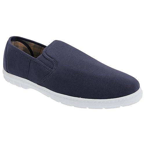 Gordini Zapatillas de Tela con Doble Fuelle de Goma Hombre Caballero - Alpargatas/Verano: Amazon.es: Zapatos y complementos