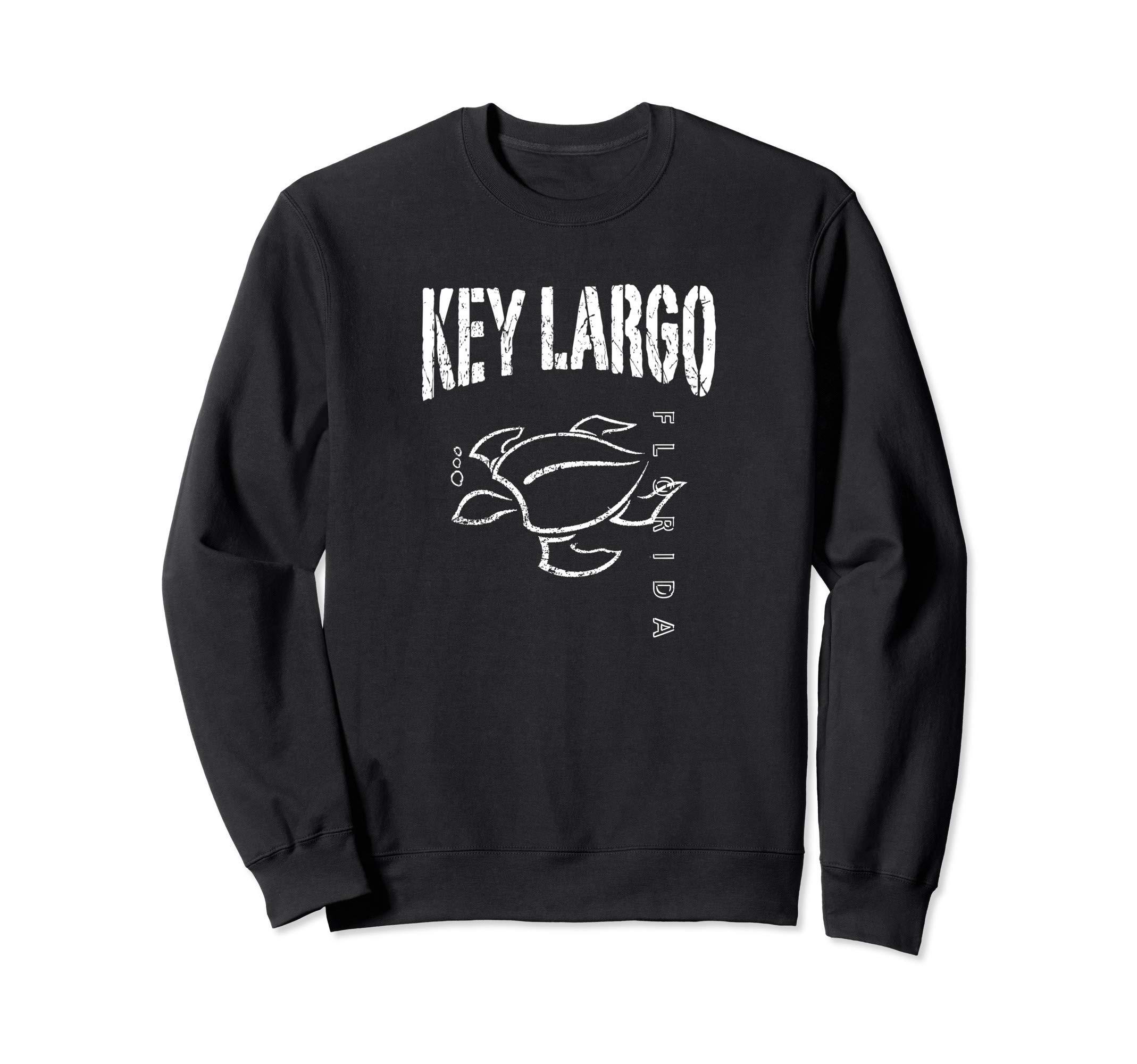 Key Largo Florida Souvenir Vacation Gift Sea Turtle Sweatshirt by KEY LARGO Souvenir Gift Florida Sailing FL