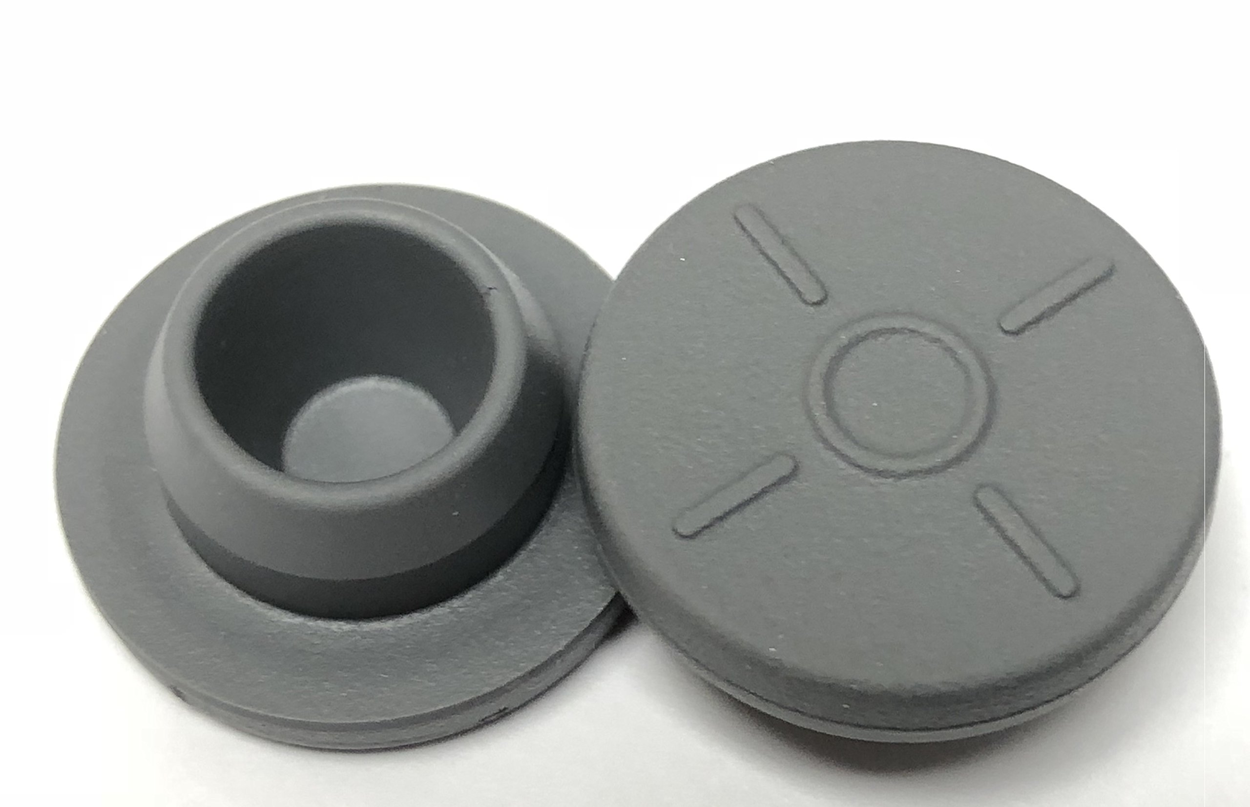 20mm Rubber Stoppers Snap On Easy 100pk