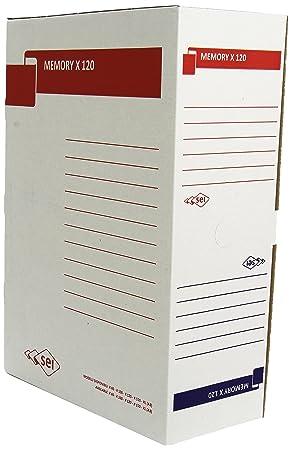 Rota Sei Memory X 120, caja de cartón 90% reciclado: Amazon.es: Oficina y papelería