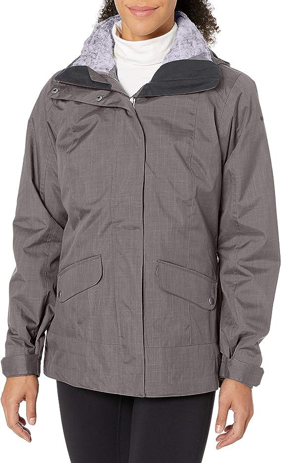 Columbia 女款三合一保暖冲锋衣