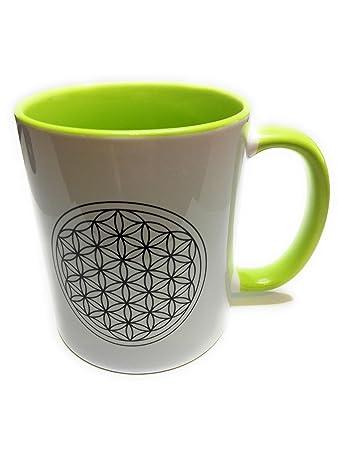 Teetasse Blume des Lebens