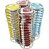 Revolving Stainless Steel Tassimo 56 T-Discs Pod Holder