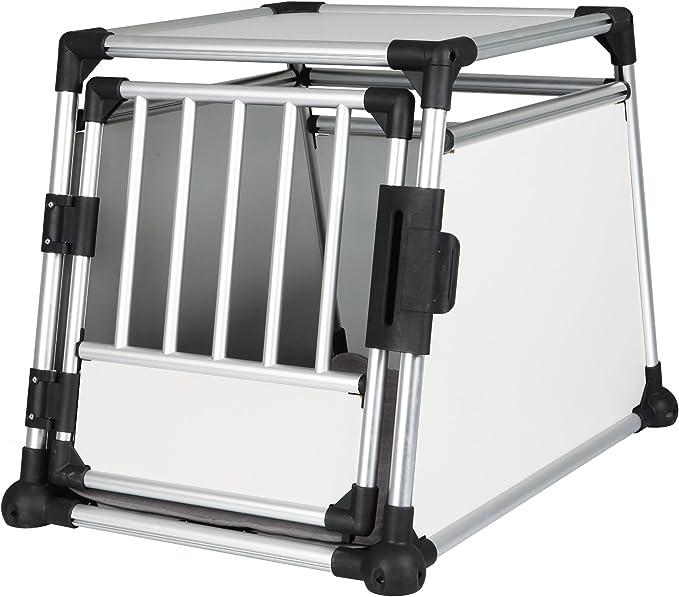 TRIXIE Jaula Transporte, Aluminio, 63 x 65 x 90 cm, Perro