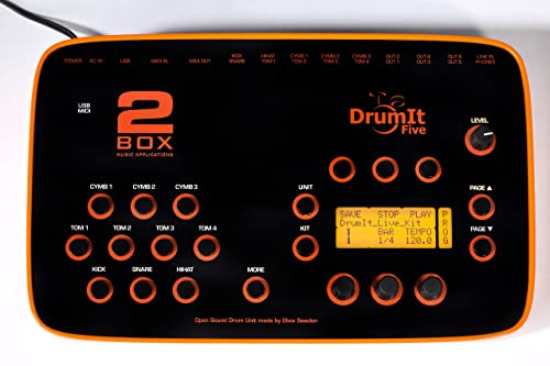 2BOX D5 Drum It Five Electronic Drum Module