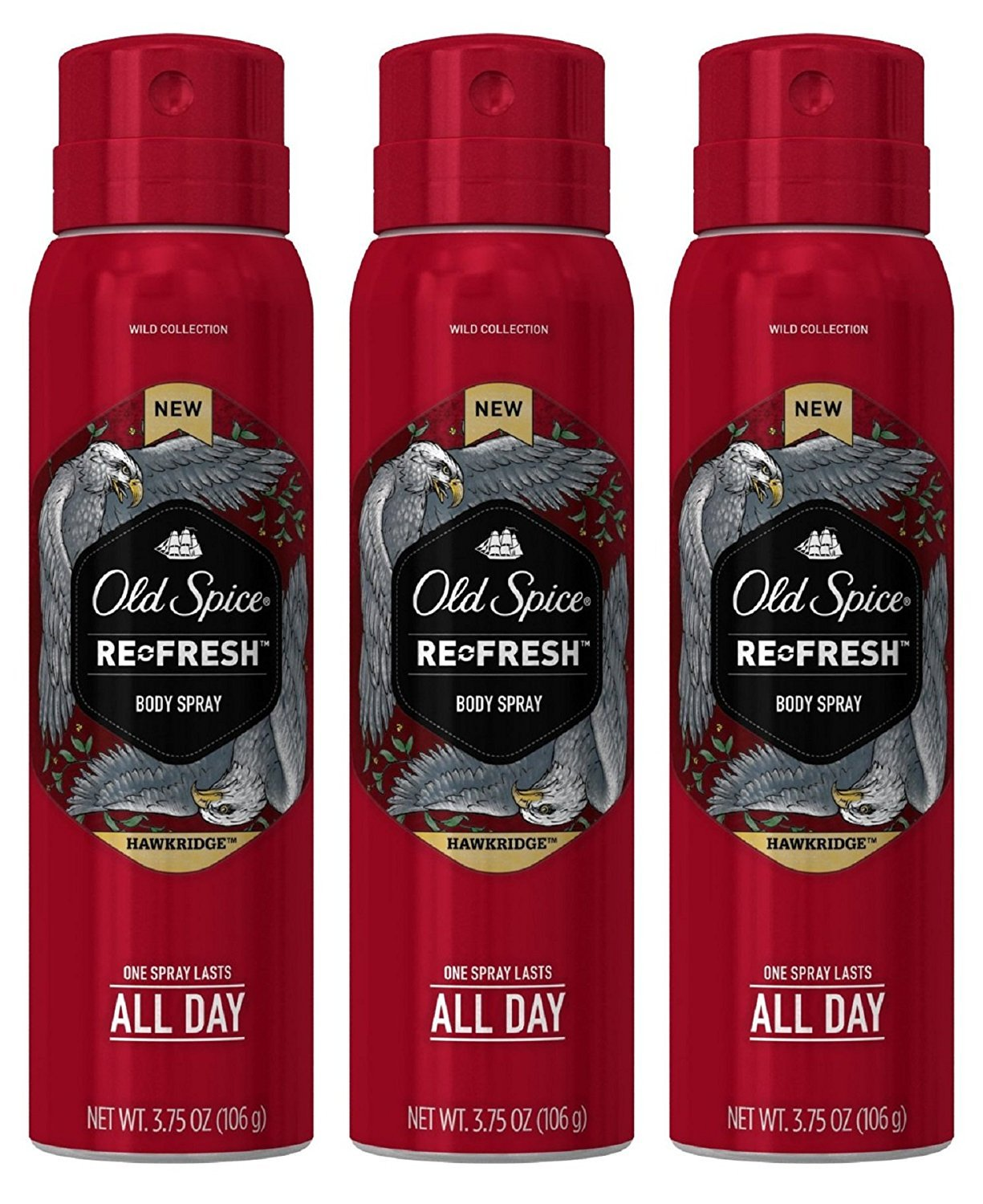 Old Spice Refresh Body Spray, Hawkridge 3.75 oz by Old Spice PROCTER & GAMBLE-BEAUTY