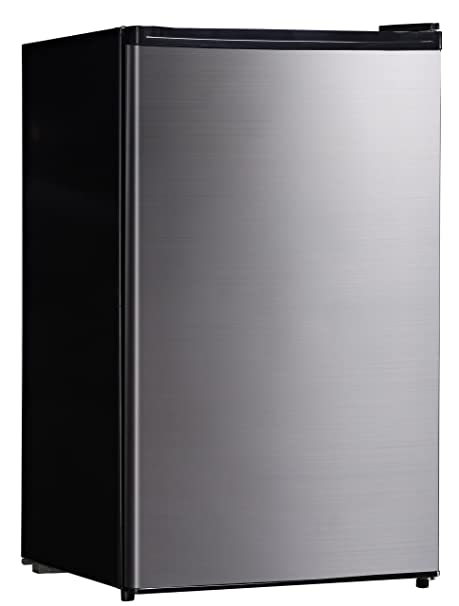 Amazon.com: SPT 4,4 pies cúbicos Compact nevera, en acero ...