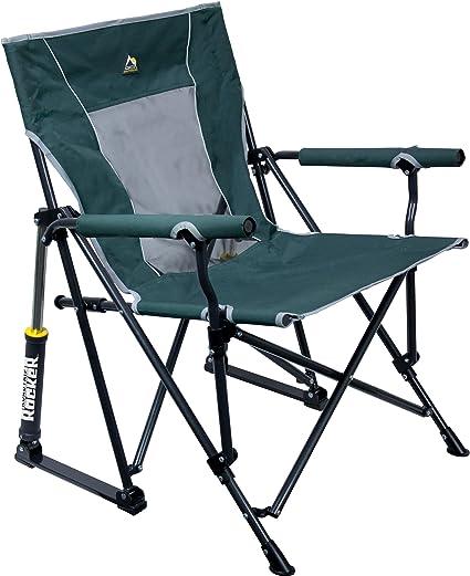 Gci Outdoor Roadtrip Rocker Outdoor Rocking Chair Hunter Amazon Ca Sports Outdoors