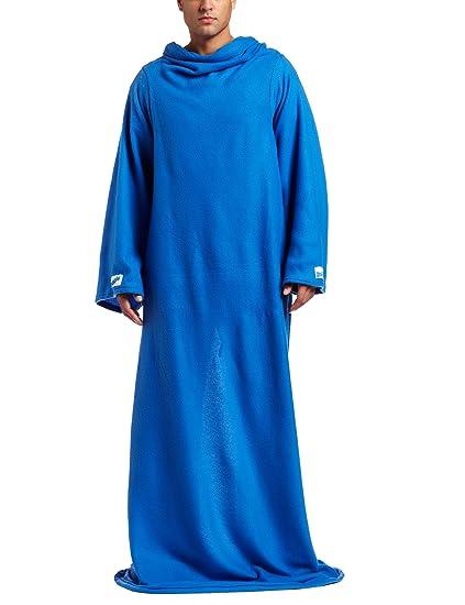 Amazoncom Snuggie Original Fleece Blanket Blue Home Kitchen