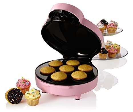 Buy Sunbeam FPSBCMM901 Mini-Cupcake Maker, Pink Online at Low ...