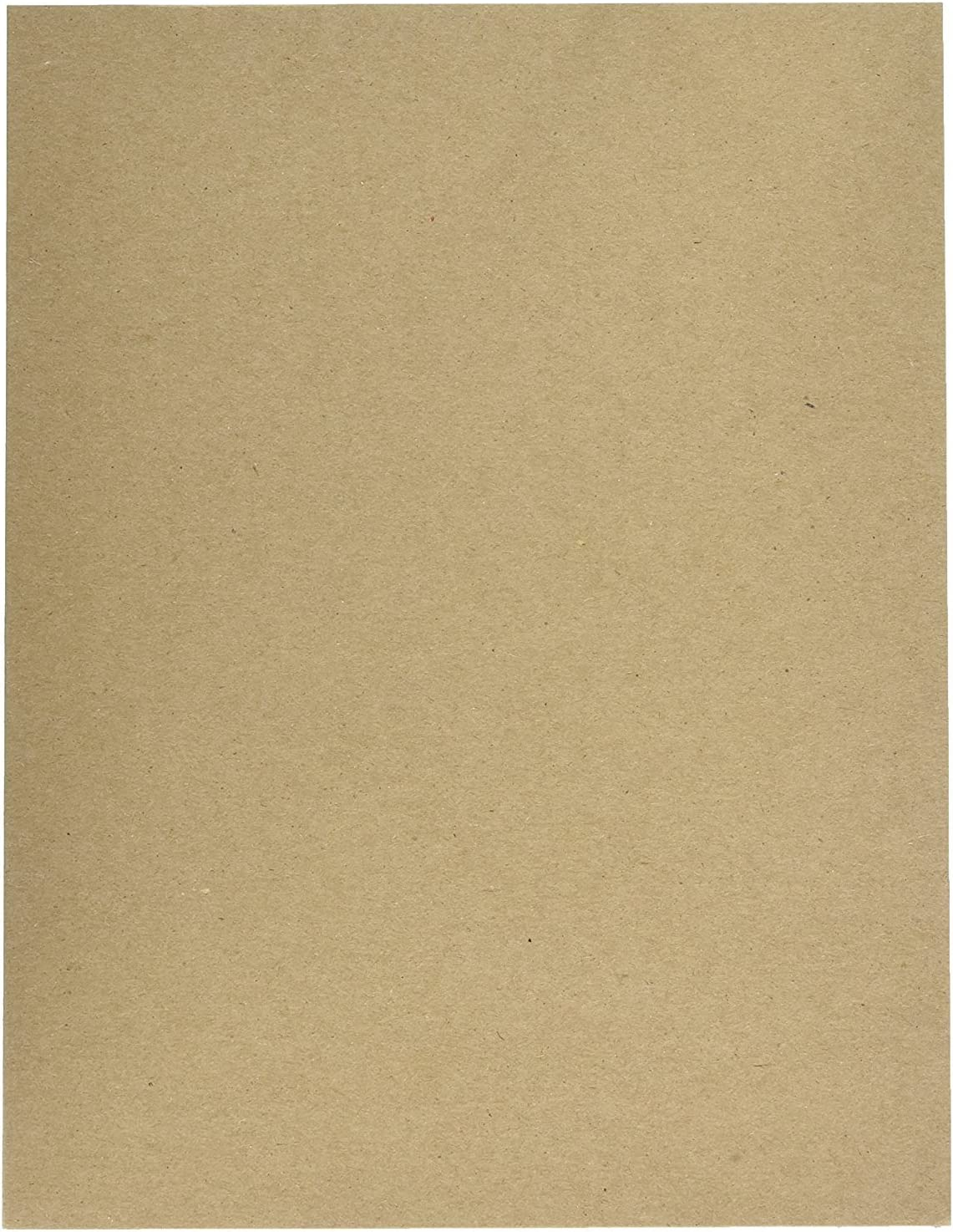 Cardboard Medium Weight Chipboard Sheets 50 Chipboards Per Pack. 12 X 18 Inches
