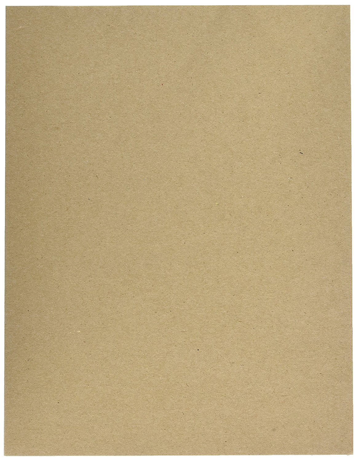 Cardboard Medium Weight Chipboard Sheets - 50 Chipboards Per Pack. (12 X 18 Inches)
