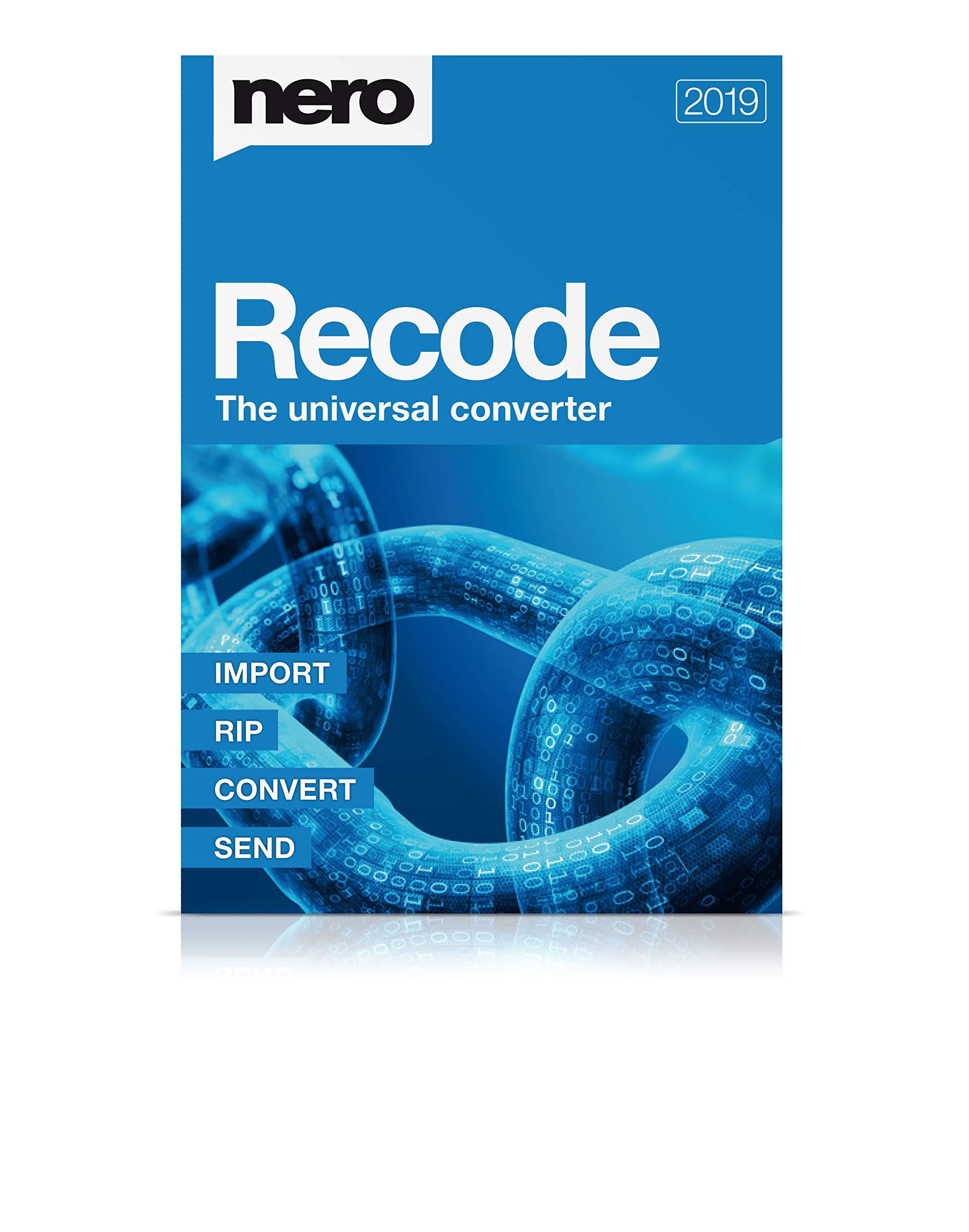 Nero Recode 2019 [Digital] [PC Download] by Nero