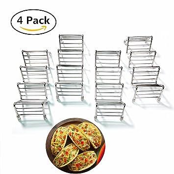 Taco Rack - Soporte Taco Titaco de acero inoxidable W ...